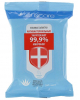 Влажные салфетки Sensicare антибактериальные с Алоэ Вера ивитамином Е 20шт 3794492