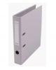 Папка-регистратор 50мм разбор. метал окантовка серый с карман AF0601-GR Lamark
