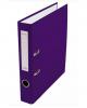 Папка-регистратор 50мм разбор.метал окантовка сливовый с карман AF0601-PL Lamark