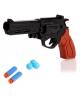 Пистолет Веселый выстрел стреляет мягкими пульками и шариками 2624305