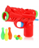 Пистолет Веселый боулинг с кеглями стреляет шариками 2624345