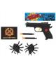 Пистолет 'Крутые пушки' 2 жучка стреляет присосками микс 731883