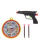 Пистолет 'Рок' с мишенью стреляет присосками 731886