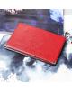 Обложка для паспорта, с уголками, цвет красный 3608581