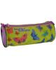 Пенал тубус на молнии 'Цветные бабочки' ПТ-02