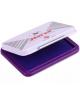Штемпельная подушка Horse, 70*48мм, фиолетовая, металл №4