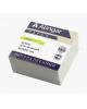 Блок бумажный для записей 'Стандарт' 8*8*4см белый Alinga AL7256